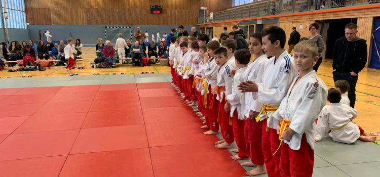 Hattinger Judo-Minis klettern auf den 1. Platz!