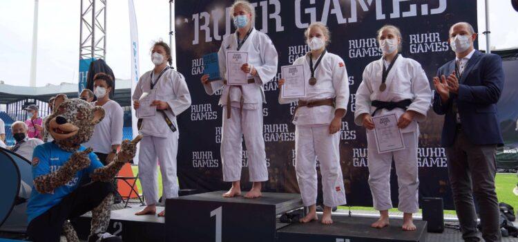 Mathilda Niemeyer gewinnt die Bronzemedaille bei den Ruhr Games 2021